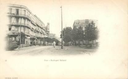 """CPA ALGERIE """"Oran, Bld National"""""""