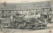 """Chemin De Fer CPA CHEMIN DE FER / TRAIN """"Locomotive de la Cie du Nord"""""""
