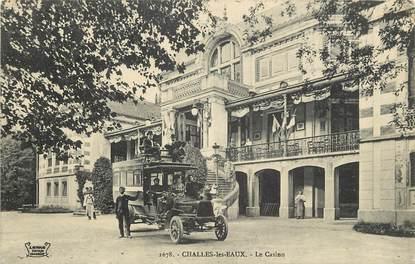 """CPA FRANCE 73  """"Challes les Eaux, le Casino"""""""