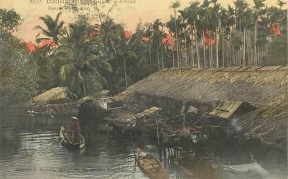 "CPA VIETNAM / INDOCHINE ""Saïgon, Arroyo, rte de Cholon"""