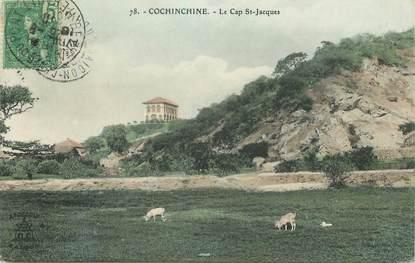 """CPA VIETNAM INDOCHINE """"Le Cap Saint Jacques"""""""