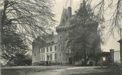 """CPA FRANCE 35 """"Les Iffs, Château de Montmuran""""."""