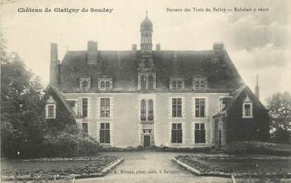 """CPA FRANCE 41 """"Souday, berceau des Trois du Bellay"""""""