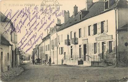 """CPA FRANCE 69 """" St Jean des Vignes, Montée des Capucins""""."""