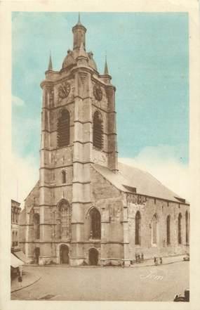 """CPA FRANCE 59 """"Avesnes sur Helpe, L'église""""."""