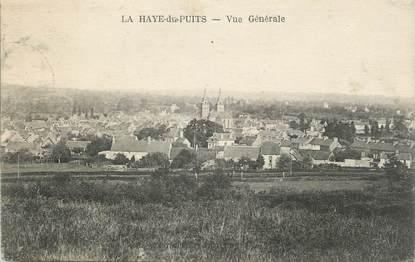 """CPA FRANCE 50 """" La Haye du Puits, Vue générale""""."""