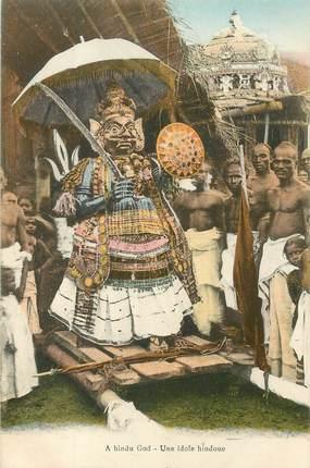 "CPA SRI LANKA / CEYLAN ""Une idole hindou"""