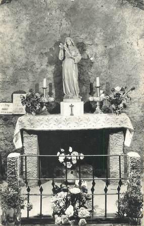 """CPSM FRANCE 06 """"Auribeau, L'autel de Ste Rita""""."""