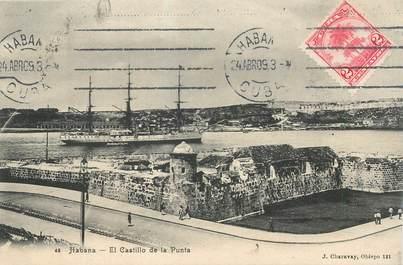 """CPA CUBA """"El Castillo de la Punta"""""""