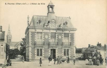 """CPA FRANCE 17 """" Fouras les Bains, L'Hôtel de Ville""""."""