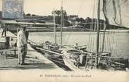 """17 Charente Maritime CPA FRANCE 17 """" Fouras les Bains, Un coin du port""""."""