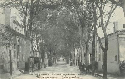 "CPA FRANCE 17 "" Fouras les Bains, Perspective du Boulevard Allard""."