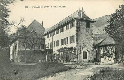 """CPA FRANCE 73  """"Challes les Eaux, Hôtel du Chateau"""""""