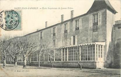 """CPA FRANCE 17 """"St Jean d'Angély, Ecole primaire de jeunes filles""""."""
