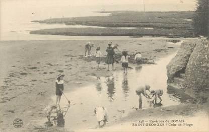 """CPA FRANCE 17 """"St Georges de Didonne, Un coin de plage""""."""