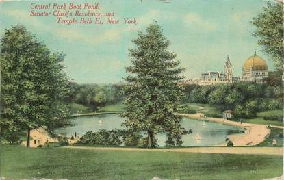 "CPA USA ""New York, central Park"""