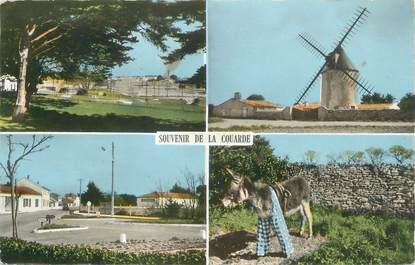 """CPSM FRANCE 17 """" Ile de Ré, La Couarde, Vues""""."""