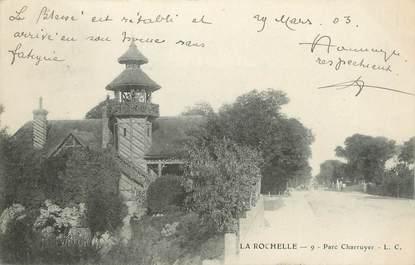 """CPA FRANCE 17 """"La Rochelle, Parc Charruyer""""."""