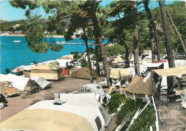 """CPSM FRANCE 83 """" Agay, Le camping""""."""
