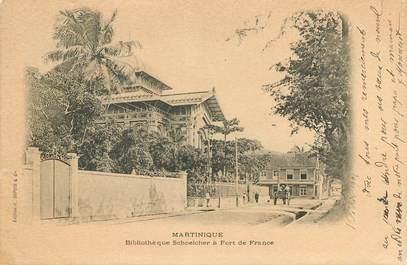 """CPA MARTINIQUE """"Fort de France, Eglise Schoelcher"""""""