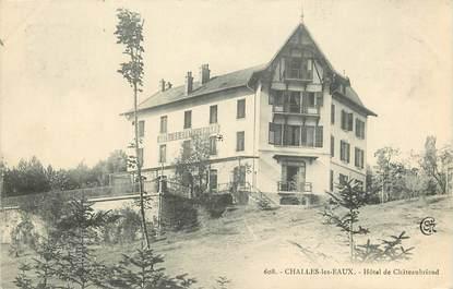 """CPA FRANCE 73  """"Challes les Eaux, Hôtel de Châteaubriand"""""""
