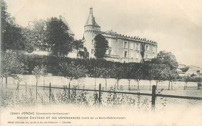 """CPA FRANCE 17 """" Jonzac, Ancien château et ses dépendances''."""
