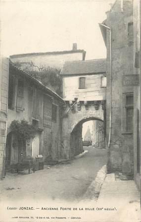 "CPA FRANCE 17 "" Jonzac, Ancienne porte de la ville""."
