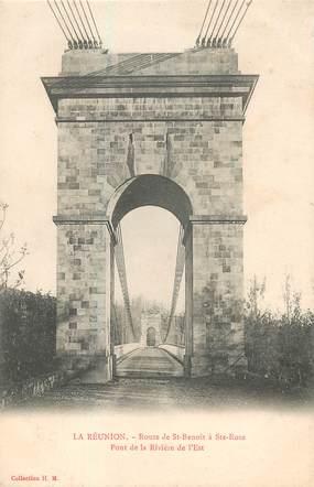 """CPA LA REUNION """"Route de Saint Benoit à Sainte Rose"""""""