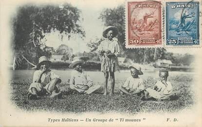 "CPA HAITI ""Groupe de petits haïtiens"""