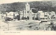 """Antille CPA HAITI """"L'Eglise à Petit Goâve"""""""