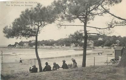 """CPA FRANCE 17 """"St Palais Le Bureau, La dune""""."""
