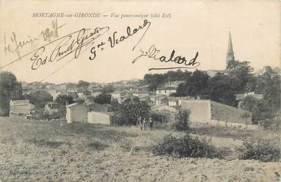"CPA FRANCE 17 "" Mortagne sur Gironde, Vue panoramique""."