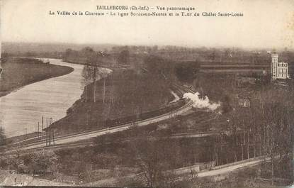 """CPA FRANCE 17 """"Taillebourg, Vue panoramique""""."""