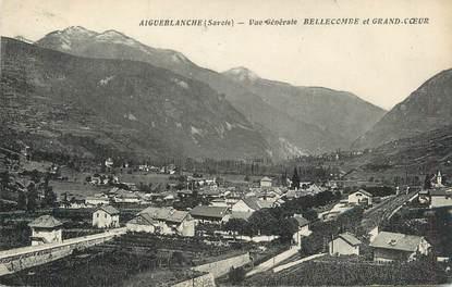 """CPA FRANCE 73 """" Aigueblanche, Vue générale sur Bellecombe et Grand Coeur""""."""