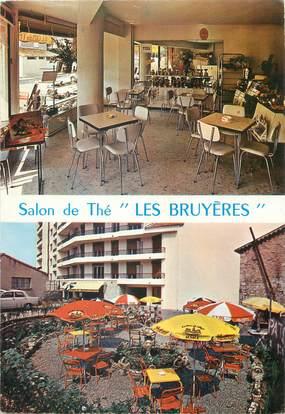 """CPSM FRANCE 06 """" Vallauris, Patisserie - Confiserie - Salon de thé - Pizzéria Les Bruyères"""""""