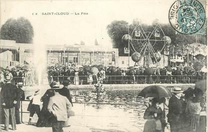 """CPA FRANCE 92 """" St Cloud, La fête"""""""