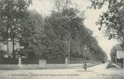 """CPA FRANCE 92 """" Vaucresson, Avenue du Clos Toutain""""'"""