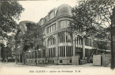 "CPA FRANCE 92 "" Clichy, Atelier du Printemps'"