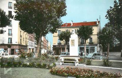 "CPSM FRANCE 92 "" La Garenne Colombes, Place Jean Baillet"""