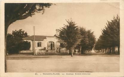 "CPA FRANCE 44 "" Tharon Plage, Avenue Ernest Chevrier"""