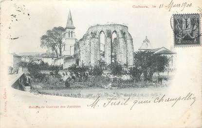 """CPA FRANCE 46 """" Cahors, Ruines du Couvent des Jacobins"""""""