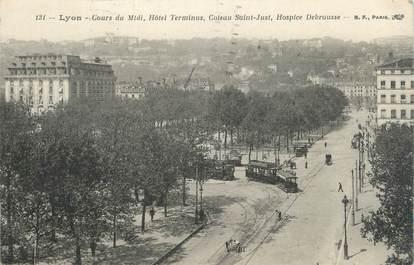 "CPA FRANCE 69 "" Lyon, Cours du Midi"""