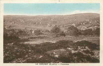"CPA FRANCE 71 "" Le Creusot, Panorama"""
