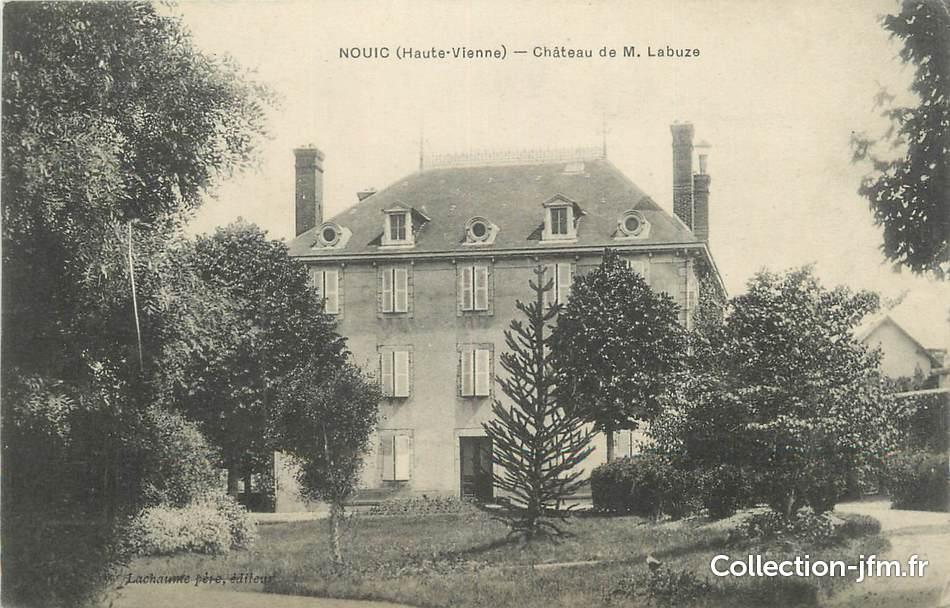 Cpa france 87 nouic ch teau de m labuze 87 haute for 87 haute vienne france