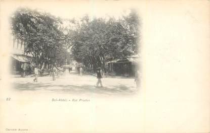"CPA ALGERIE ""Bel Abbès, rue Prudon """
