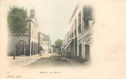 """CPA ALGERIE """"Médéah, la mairie"""""""