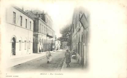 """CPA ALGERIE """"Médéah, rue Gambetta"""""""