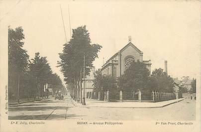 """CPA FRANCE 08 """" Sedan, Avenue Philippoteau"""""""