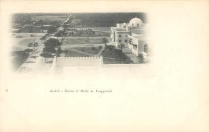 "CPA ALGERIE ""Biskra, casino et rte de Touggourth"""