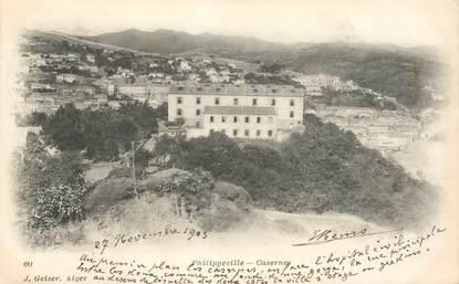 """CPA ALGERIE """"Philippeville, les casernes"""""""